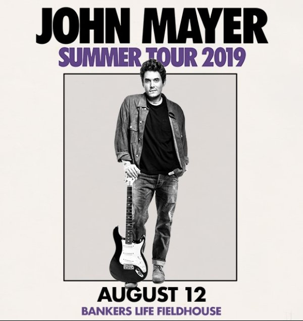 None - Win John Mayer Tickets