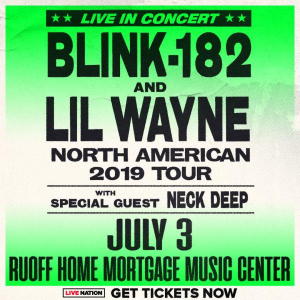 None - Blink 182 & Lil Wayne Tickets