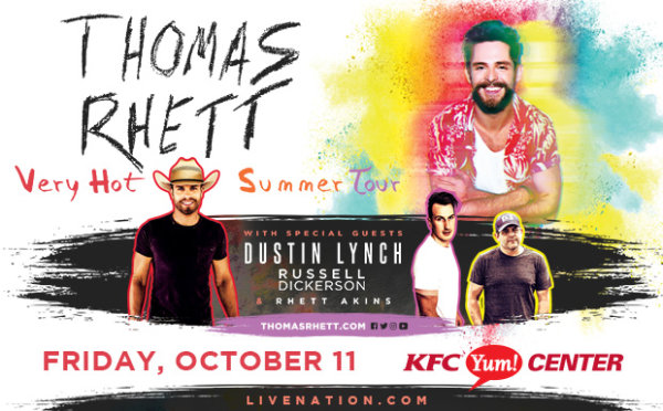 None - Thomas Rhett Online Ticket Giveaway