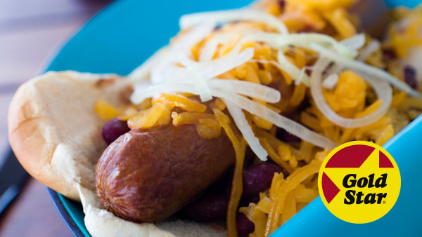 None - National Chili Dog Day with Gold Star Chili!