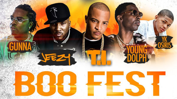 None - Win Tickets to Boo Fest featuring T.I. & Jeezy!