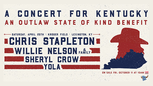 None - Register to win tickets to Chris Stapleton's A Concert for Kentucky
