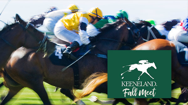 None - Win tickets to KEENELAND!