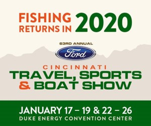 None - Win tickets to the Cincinnati Travel, Sports & Boat Show!