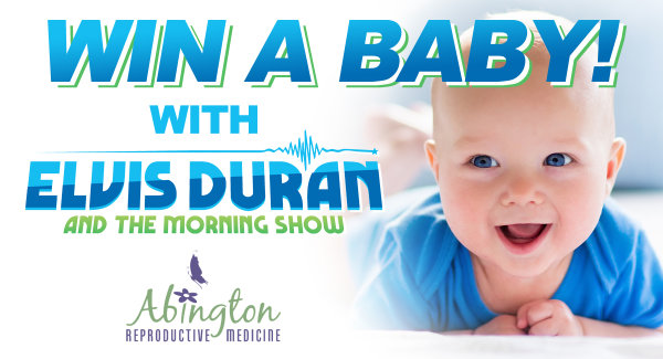 None - Win A Baby With Elvis Duran & The Q102 Morning Show!