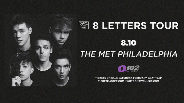 None - Win Tickets To Q102's Summer Bash with Why Don't We!