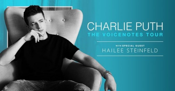 Win Tickets to see Charlie Puth at BB&T Pavilion!