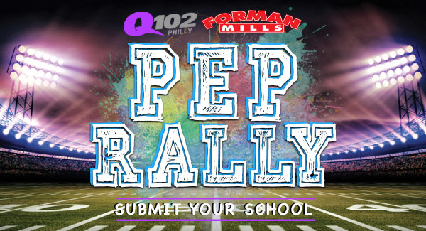Show Your School Spirit on Q102's Pep Rally Thursday