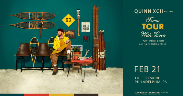None - Win Tickets to see Quinn XCII @ the Fillmore on February 21st!