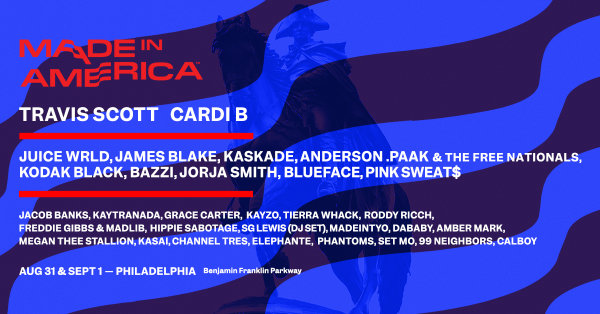 None - Q102 Wants to Send You to Made in America Festival!