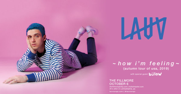None - Win a Pair of Tickets to See LAUV!