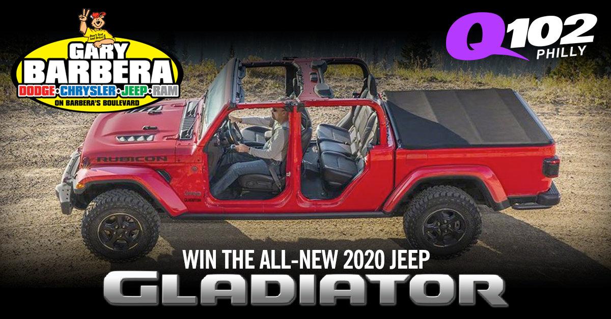 Win Gary Barbera's Jeep Gladiator!