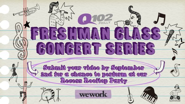 None - Sign Up Now to Perform at Q102's Freshmen Class Concert Series