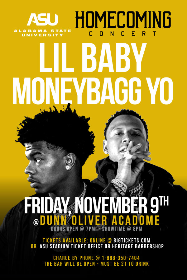 None -  ASU Homecoming Concert featuring Lil Baby & MoneyBagg Yo