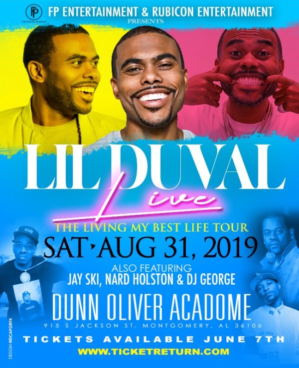 None - Lil Duval's 'Living My Best Life Tour'