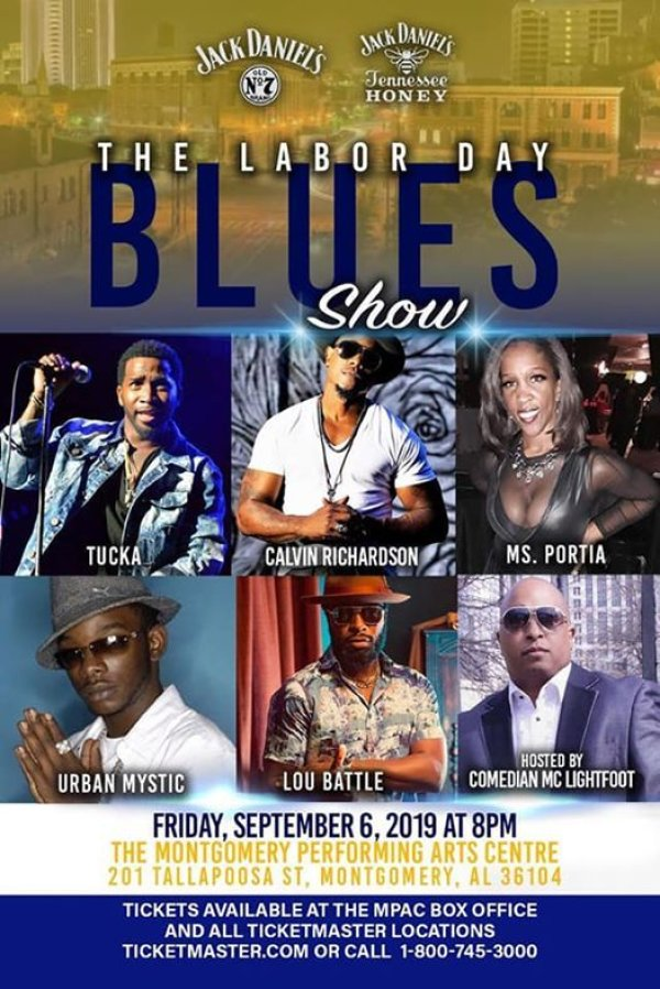 None - Labor Day Blues Show