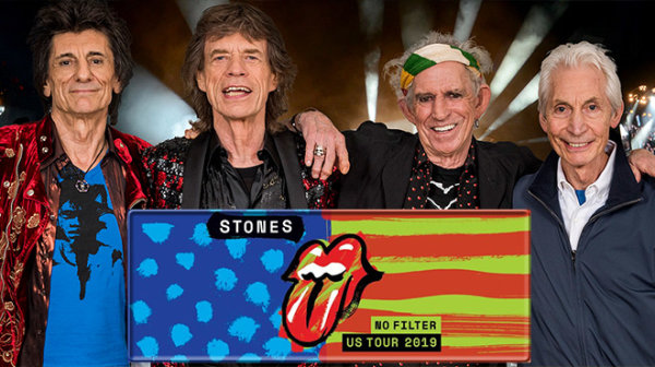 None - Win tickets for The Rolling Stones