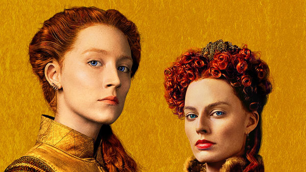 None - Win a 4-pack of tickets to see MARY QUEEN OF SCOTS!