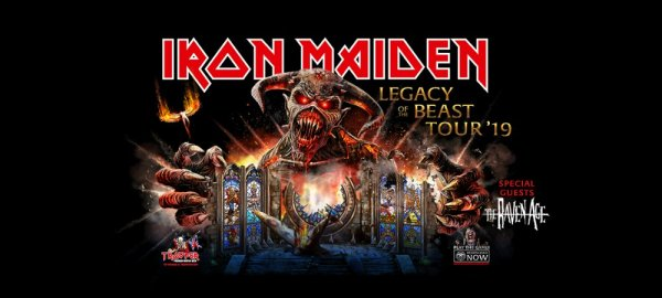 None - Iron Maiden Ticket Giveaway!