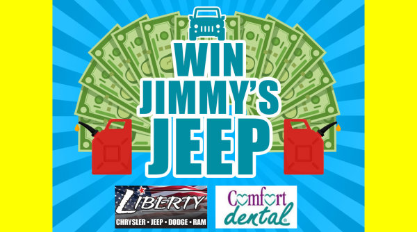 None - Win Jimmy's Jeep!