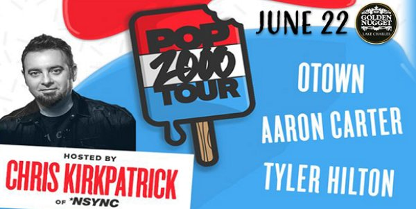 None - Win Tickets To The Pop 2000 Tour Hosted By NSync's Chris Kirkpatrick June 22nd @ Golden Nugget, Lake Charles