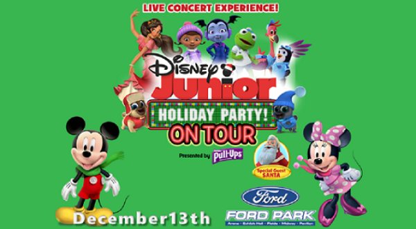 None - Win 4 Packs Of Tickets To Disney Junior Holiday Party On Tour Dec. 13th @ Ford Arena, Beaumont