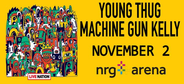 None - Win Tickets To Young Thug & Machine Gun Kelly Nov. 2nd @ NRG Stadium, Houston