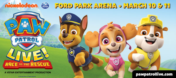 image for Enter for a Chance to Win Tickets to PAW Patrol Live!