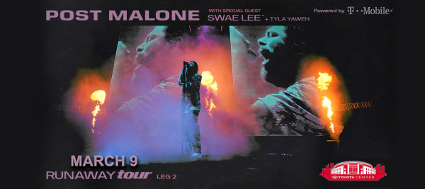 image for Enter for a Chance to Win Tickets to Post Malone!