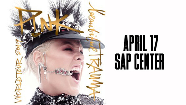 None - Win tickets to see P!NK at SAP Center!