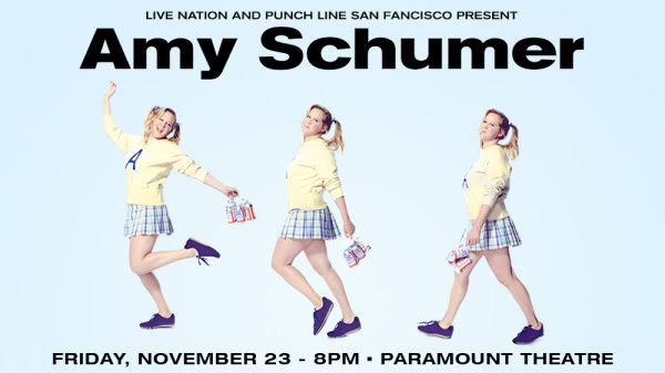 None - Win tickets to see Amy Schumer at The Paramount Theatre in Oakland!
