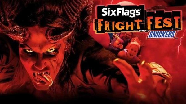 Win Tickets to Six Flags Discovery Kingdom for Fright Fest!