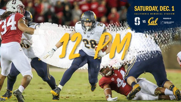 None -  Win 4 tickets to Cal Bears vs. Stanford - The 121st BIG GAME!