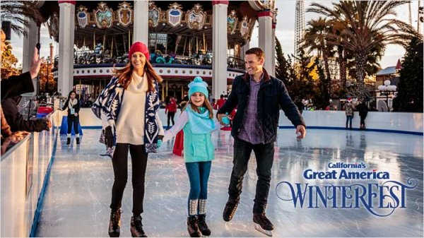 None -  Win a Family 4-pack to WinterFest at California's Great America