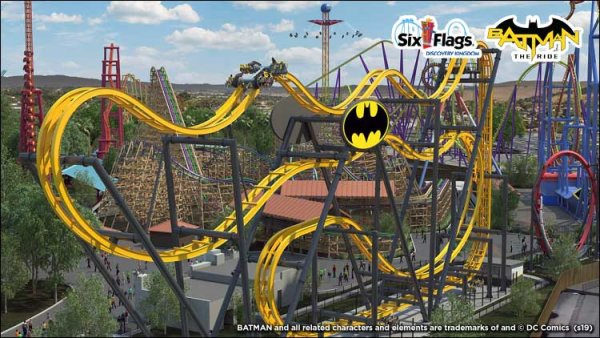 None -    Win Tickets to the New BATMAN™: The Ride atSix Flags Discovery Kingdom