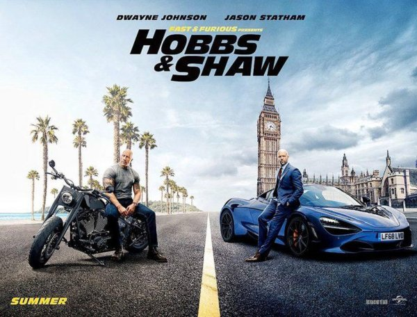 None - Enter For A Chance To See Fast & Furious: Hobbs & Shaw!