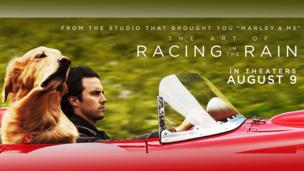 None - Enter For A Chance To See The Art Of Racing In The Rain!