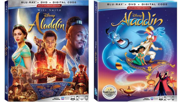 None - Enter To Win Aladdin (2019) and Aladdin (1992) on DVD!