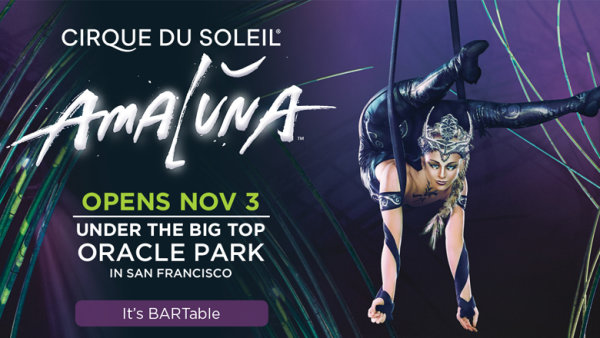None - Win Tickets To Cirque Du Soleil AMALUNA!
