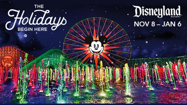 None - Win A Disneyland® Holidays Vacation!