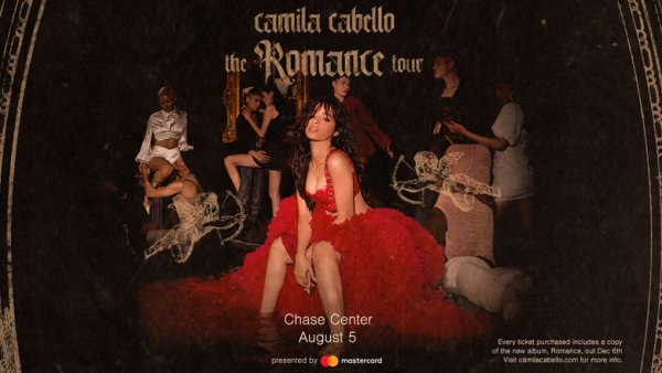 None - Win Tickets To See Camila Cabello At Chase Center!