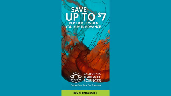 None - Enter For A Chance To Win Tickets To California Academy Of Sciences