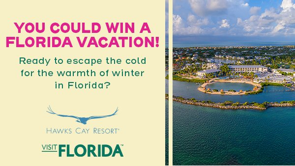 None - Enter to win a Florida Vacation