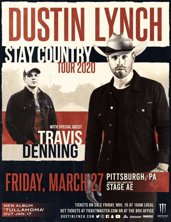 None - Win tickets to see Dustin Lynch!