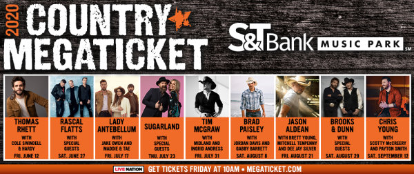 None - 2020 Country Megaticket