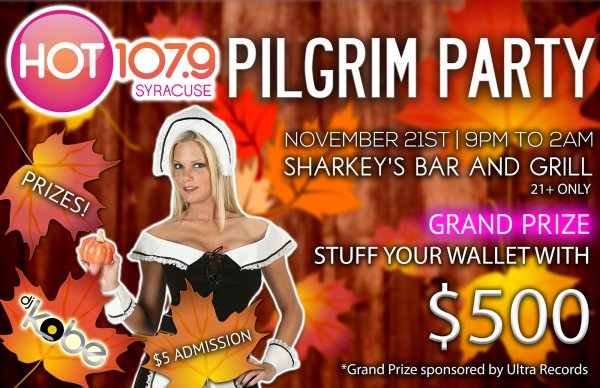 None - HOT 107.9 Pilgrim Party