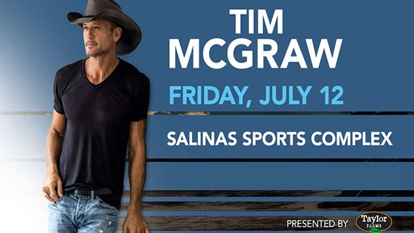 None - Tim McGraw At The Salinas Sports Complex!