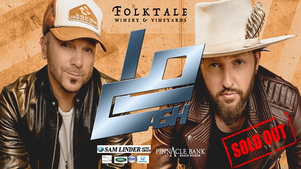 None - LOCASH at Folktale Winery!