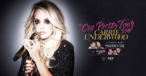None - Carrie Underwood at Oracle Arena!