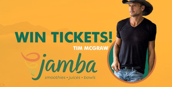 None - Win Your Chance to Meet Tim McGraw!
